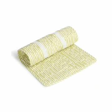 Oilo Extra Changing Pad Topper in Spring Green