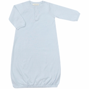 Angel Dear Boy's Take Me Home Gown in Powder Blue - Newborn