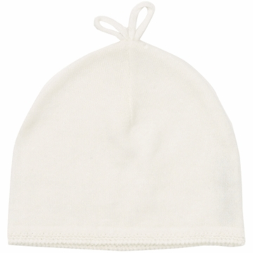 Angel Dear Boy's Take Me Home Solid Hat in Ivory