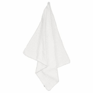 Angel Dear Chenille Blanket in White