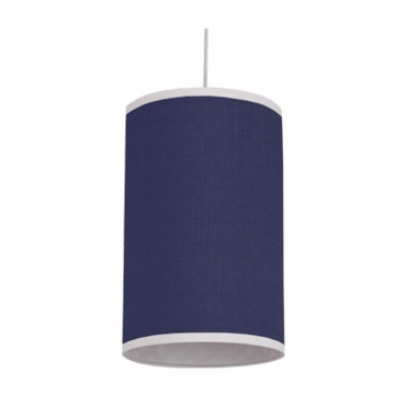 Oilo Solid Cylinder Light in Cobalt Blue