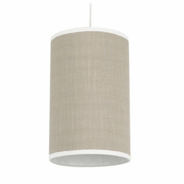 Oilo Solid Cylinder Light in Taupe