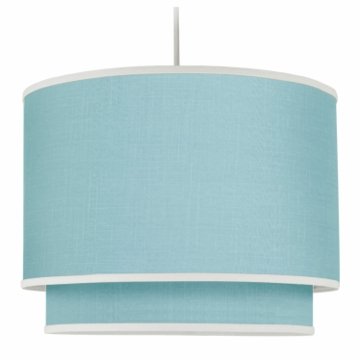 Oilo Solid Double Cylinder Light in Aqua