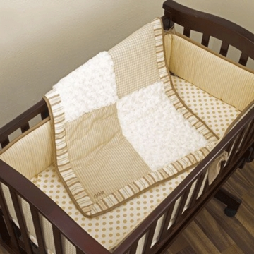 CoCaLo Baby Snickerdoodle 3 Piece Cradle Bedding Set