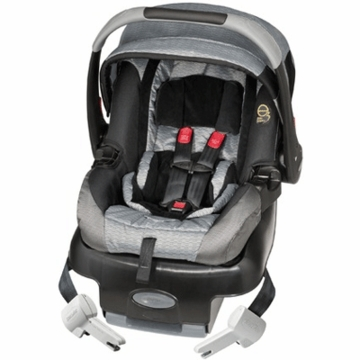 Evenflo Secure Ride 35 E3 Infant Car Seat in Gray Racer