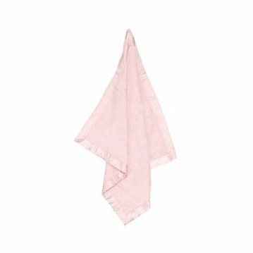 Angel Dear Fuzzy Blanket in Pretty Pink