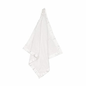 Angel Dear Fuzzy Blanket in White