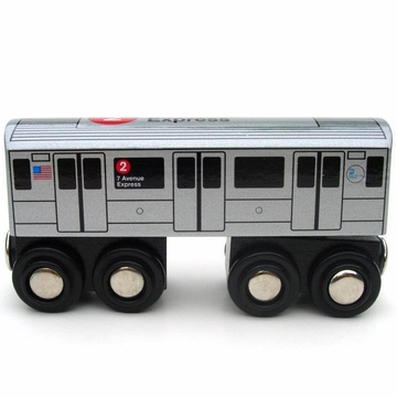 Munipals NYC No. 2 Subway Train Car