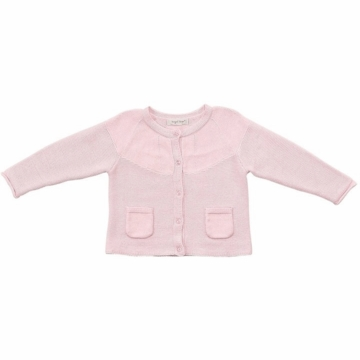 Angel Dear Valerie Caradigan in Baby Pink - 0 to 3 Months