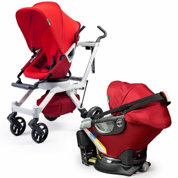 Orbit Baby Travel Collection - Ruby/Slate