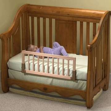 Kidco Convertible Crib Rail in Natural