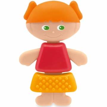 Chicco Lil' Jill Rattle & Teether