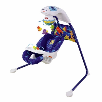 Fisher-Price Ocean Wonders Cradle �n Swing