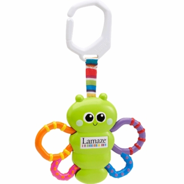 Lamaze Vibrating Flutterbug Teether