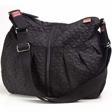 Babymel Amanda Diaper Bag - Quilted Black