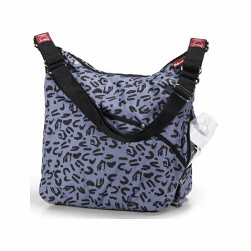 Babymel Sammie Diaper Bag - Leopard Denim