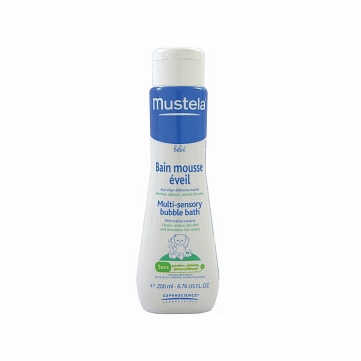 Mustela Multi-Sensory Bubble Bath 6.8 oz.