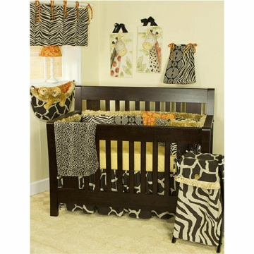 Cotton Tale N. Selby Sumba 4 Piece Crib Bedding Set