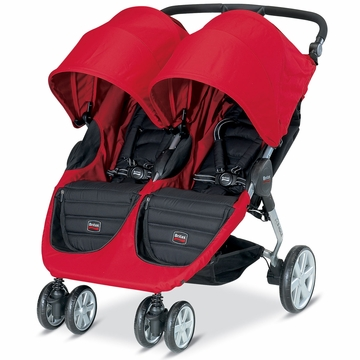 Britax B-Agile 2013 Double Stroller - Red