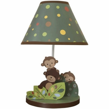 Bedtime Originals Curly Tails Lamp with Shade & Bulb