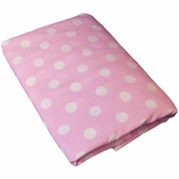 Bedtime Originals Hello Kitty & Puppy Fitted Crib Sheet