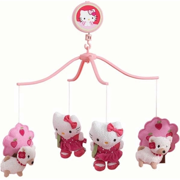 Bedtime Originals Hello Kitty & Puppy Musical Mobile