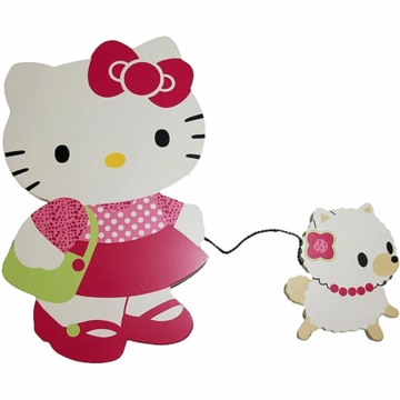 Bedtime Originals Hello Kitty & Puppy Wall Hanging