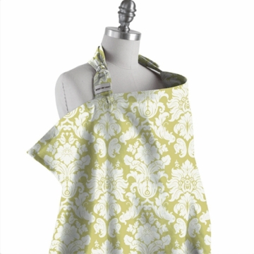 Bebe au Lait Nursing Cover in Endive - D