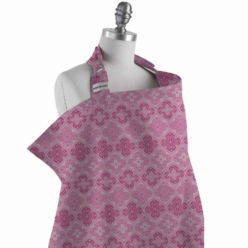 Bebe au Lait Nursing Cover in Shrine Pink