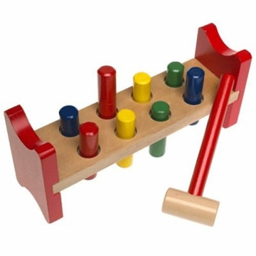 Melissa & Doug Pound A Peg Toy