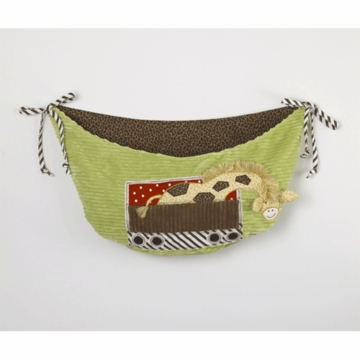 Cotton Tale Designs Animal Track Toy Bag