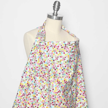 Bebe au Lait Nursing Cover in Hot Dots