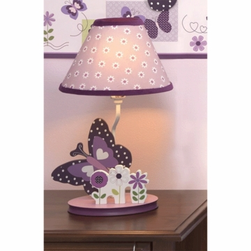 Bedtime Originals Provence Lamp with Shade & Bulb