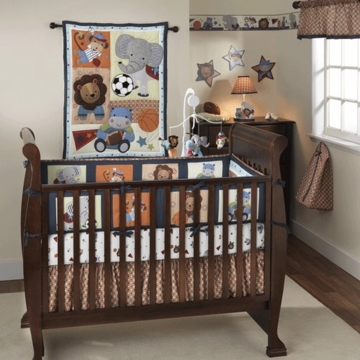 Bedtime Originals Teammates 3 Piece Crib Bedding Set