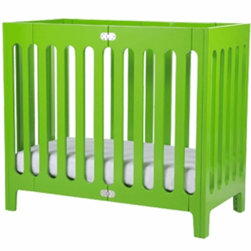 Bloom Alma Urban Cot/Crib in Gala Green