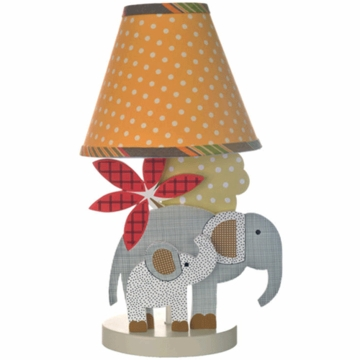 Cotton Tale Elephant Brigade Decorator Lamp