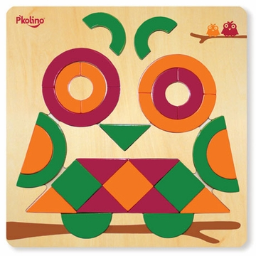 P'kolino Multi Solution Shape Puzzle - Owl