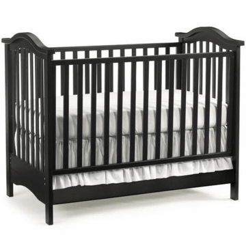 Bonavita Hudson Classic 3 in 1 Non-Dropside Crib in Licorice