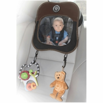 Prince Lionheart Baby View Mirror in Brown/Tan