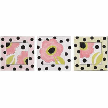 Cotton Tale Poppy Wall Art