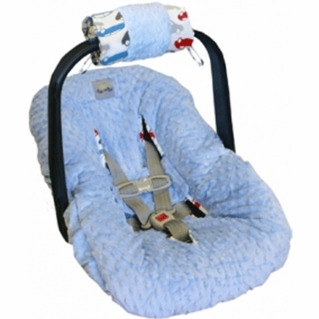 Itzy Ritzy Wrap Infant Carrier Arm Pad in Rodeo Drive