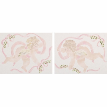 Cotton Tale Designs Lollipops & Roses Wall Art