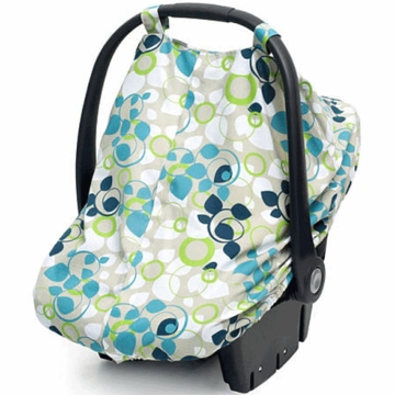JJ Cole Car Seat Canopy - Blue Vine