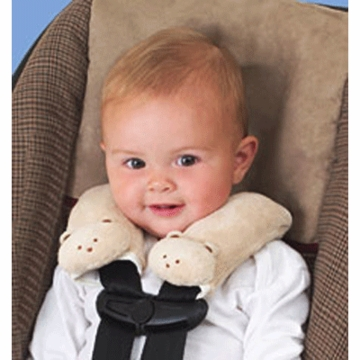 Summer Infant Cushy Straps in Ivory Teddy Bear