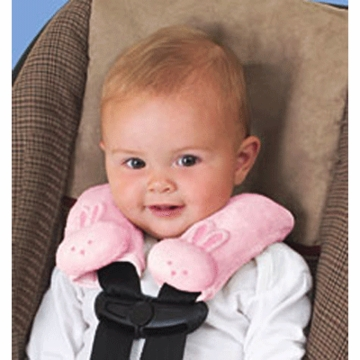 Summer Infant Cushy Straps in Pink Bunny