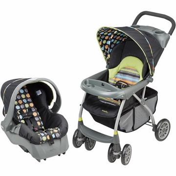 Evenflo Journey 200 Travel System - Crayon Scribbles