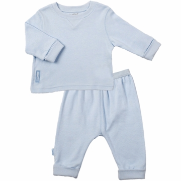 Kushies Baby 2 Piece Set in Blue- 12 Month