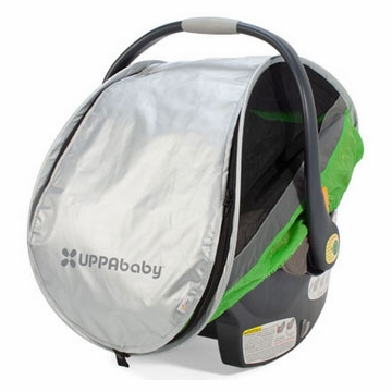 UppaBaby Cabana Infant Car Seat Shade - Green