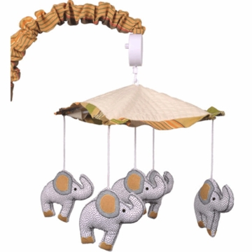 Cotton Tale Elephant Brigade Musical Mobile