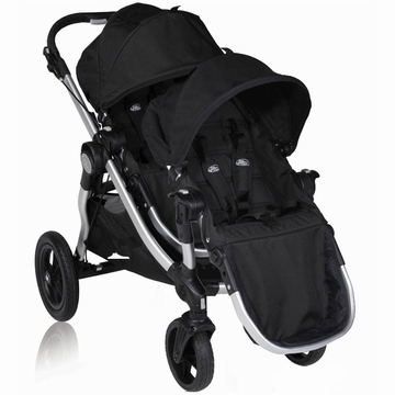 Baby Jogger City Select Stroller with Second Seat Kit in Onyx